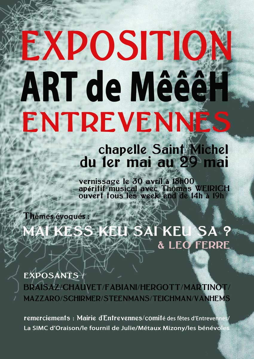 entrevennes exposition out of art de mai
